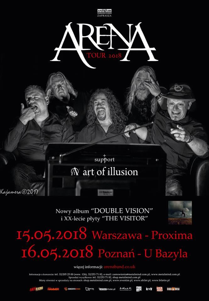 Arena i Art of Illusion - Warszawa i Poznan