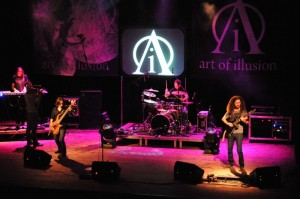 Art of Illusion - koncert. Fot. Darek Gackowski