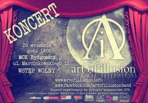 AOI @ MCK - plakat koncertowy