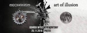 Art of Illusion + Mechanism, Gdańsk Wydział Remontowy
