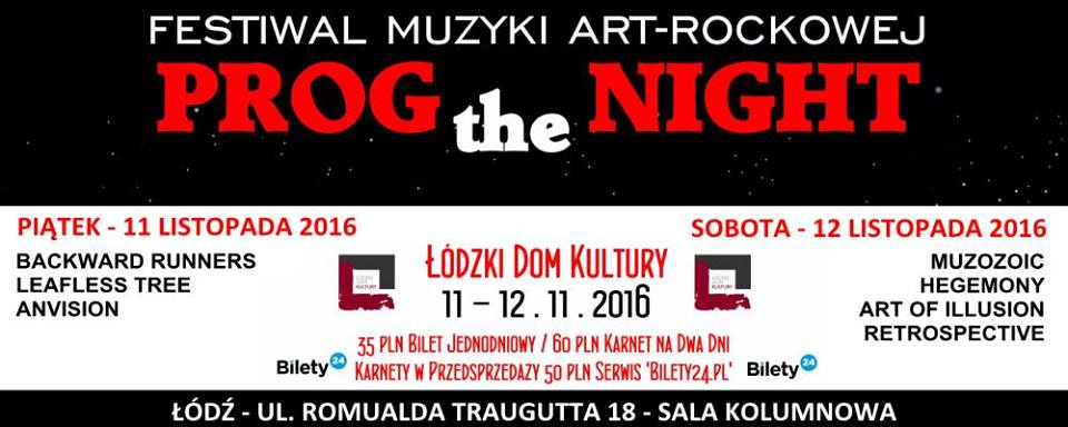 Prog the night 2016
