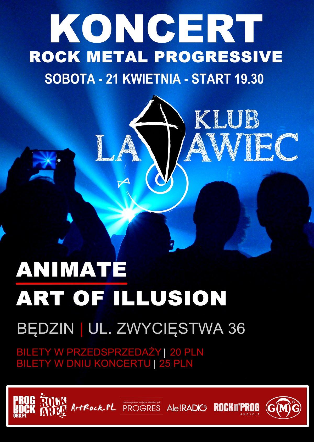 Art of Illusion i Animate - Będzin, Klub Latawiec
