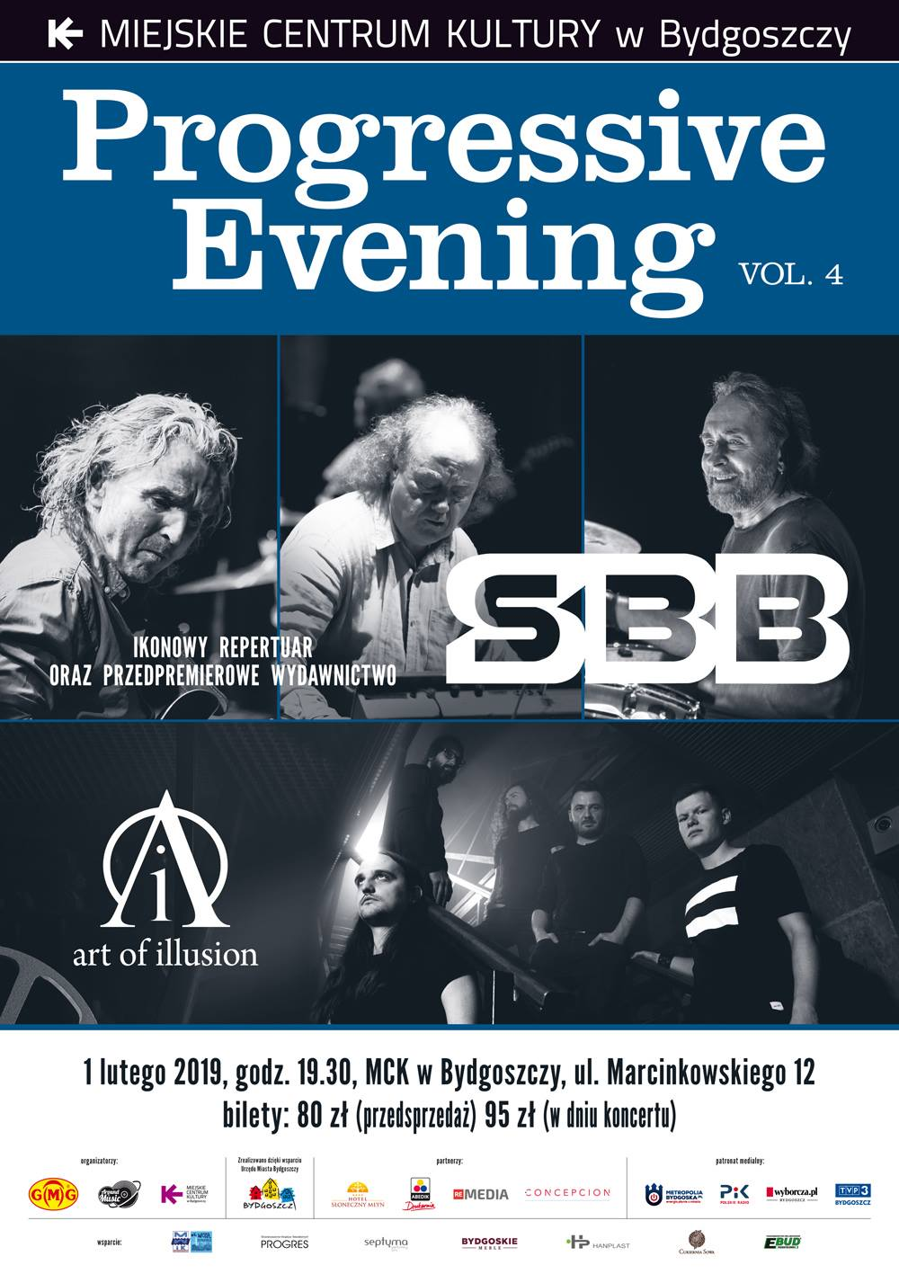 Art of Illusion i SBB, Progressive Evening vol. 4